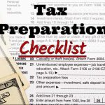 Edwin Casanova CPA PC's 2017 Tax Preparation Checklist